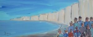 Gens des grandes falaises 1. Acrylique 20x50. dans ACTUALITES gens-des-grandes-falaises-1-300x120