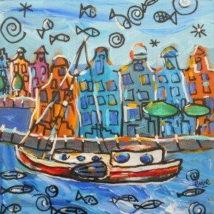 Amsterdam rêve 20x20